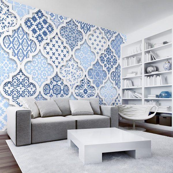 Fototapeta w orientalne wzory do salonu