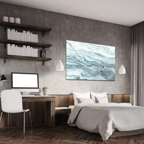 Obraz marmurowy do sypialni
