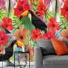 motyw ptaków na tapecie
