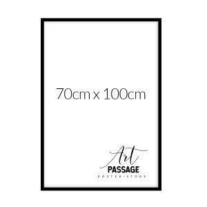 Ramka w kolorze czarnym na plakat 70x100