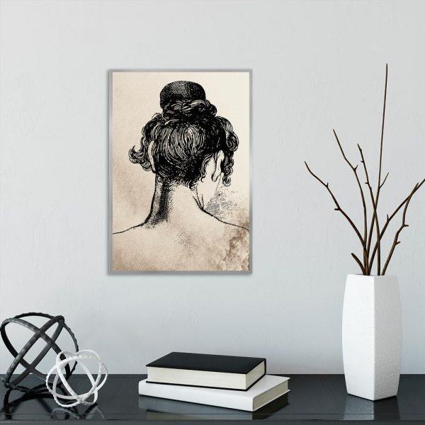 Plakat vintage na ścianę do salonu