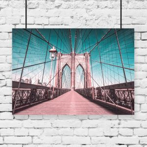 Plakat most nowojorski