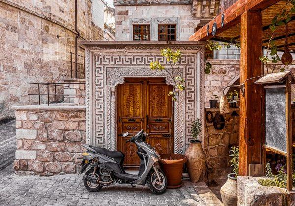 Fototapeta z motywem włoskiej architektury