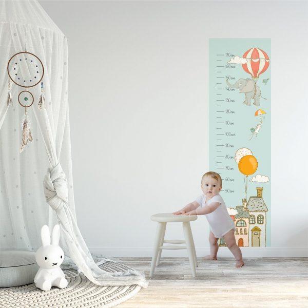 Miarka wzrostu do pokoju dziecka