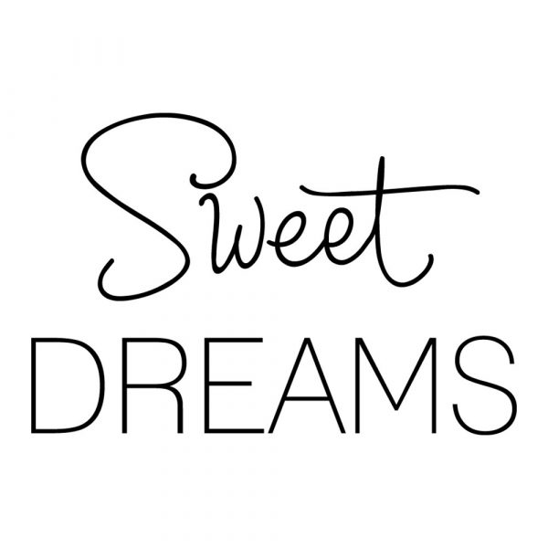 Ornament ścienny sweet dreams