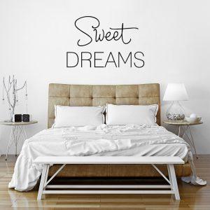 Naklejka na ścianę do sypialni