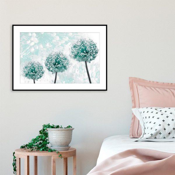 Plakat motyw roślin