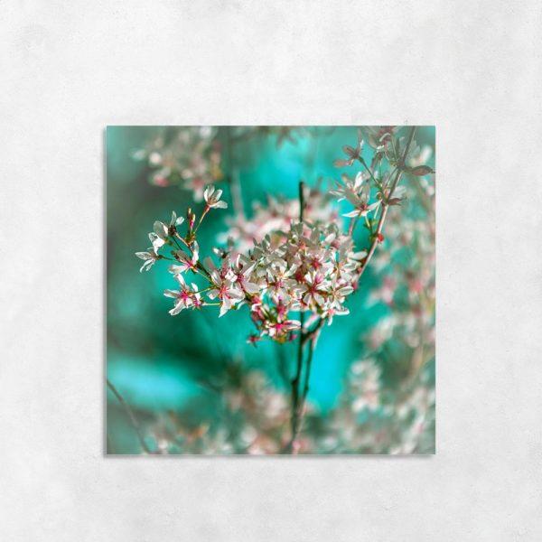 Obraz gałązka i kwiaty