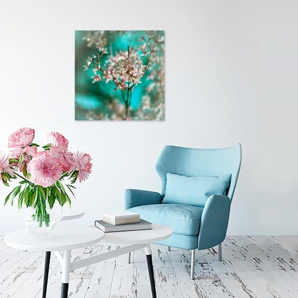 Obraz gałązka kwiatów