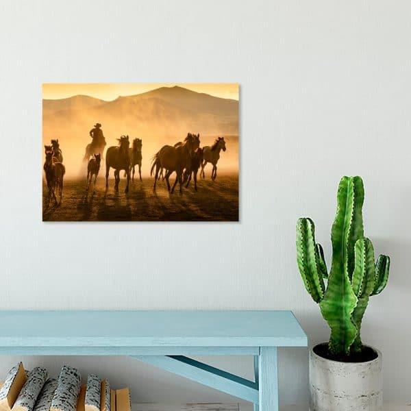 Obraz z motywem zachodu słońca
