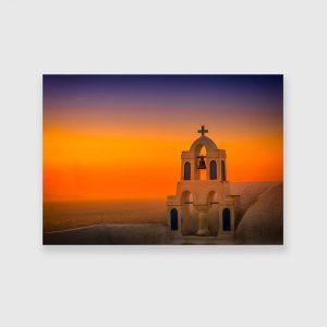 Obraz w kolorze pomarańczowym