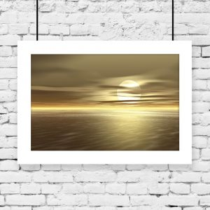 plakat wschód słońca na ścianę