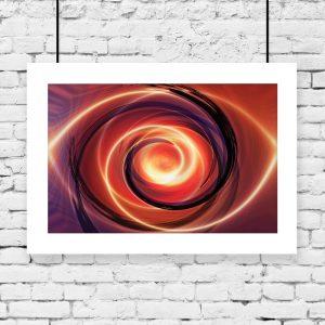 plakat z abstrakcją na ścianę