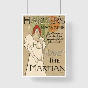 plakat okładka harper's magazine