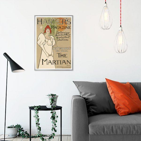plakat okładka gazety magazynu