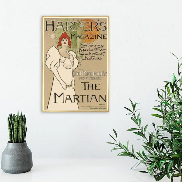 plakat harper's magazine