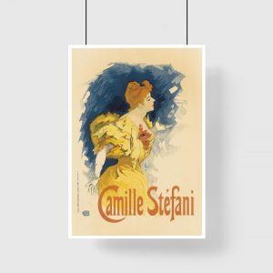 plakat retro Camille Stefani