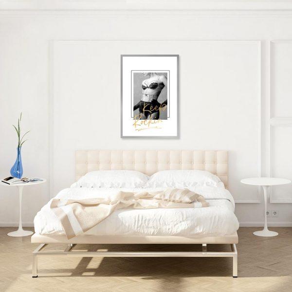 plakat kobiecy do sypialni