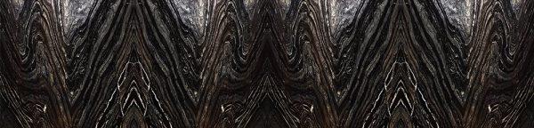 kuchenna fototapeta z czarną abstrakcją