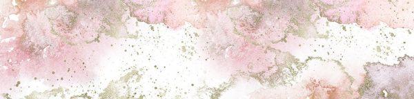 fototapeta kuchenna różowe plamki