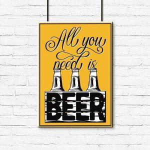plakat piwo