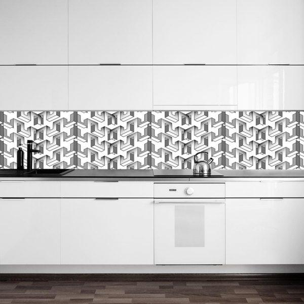 fototapeta z oryginalnym wzorem do kuchni