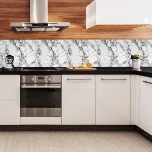 fototapeta kuchenna z motywem marmuru