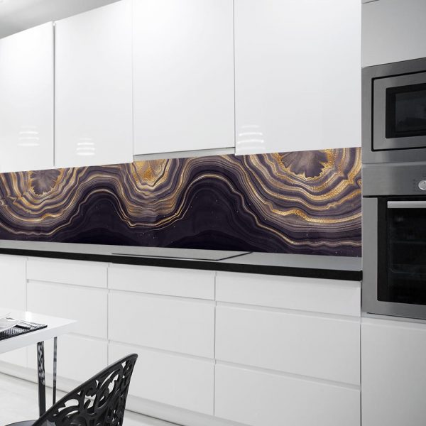 fototapeta kuchenna z abstrakcyjnym wzorem