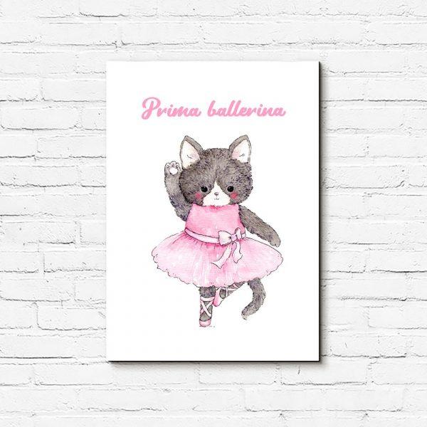 obraz z kotkiem dla dziecka
