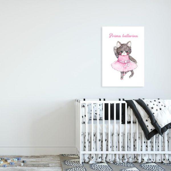 obraz Prima Ballerina do pokoju dziecka