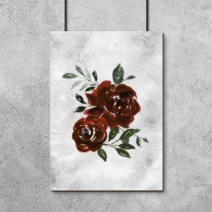 róże jako kwiatowa dekoracja