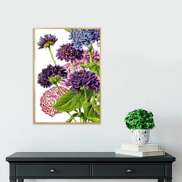 kwiaty jako dekoracja