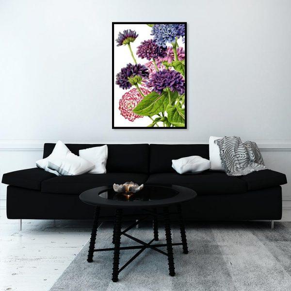 dekoracja z kwiatami