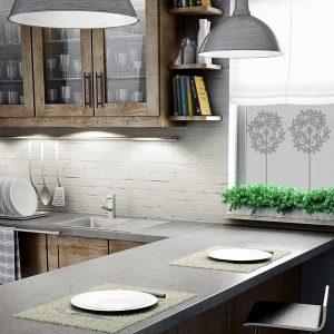 okienna okleina z dmuchawcami do kuchni