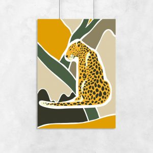 plakat ze zwierzęcym motywem