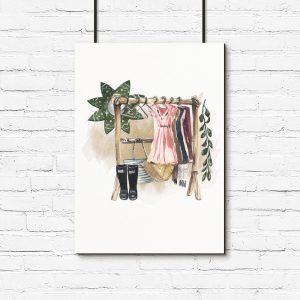 plakat garderoba
