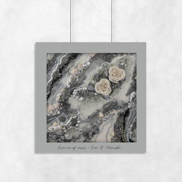 plakat geode art