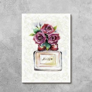 Obraz z motywem perfum